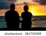 A Couple Of Silhouette Stare...