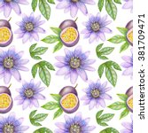 Seamless Summer Floral Pattern...