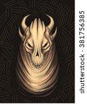demon | Shutterstock . vector #381756385