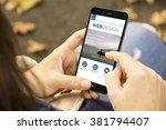 responsive fluid design concept ... | Shutterstock . vector #381794407