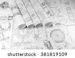 engineering and technology. the ... | Shutterstock . vector #381819109