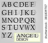 Alphabet Da Vinci