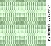 seamless green chevron stripes... | Shutterstock .eps vector #381884497