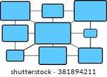 illustration of computer... | Shutterstock .eps vector #381894211