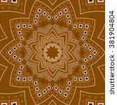 vector indian texture. tribal...   Shutterstock .eps vector #381904804