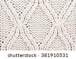 642b9a892c12 Closeup Beige Knitted Winter Sweater Pattern Stock Photo (Edit Now)  381910531 - Shutterstock