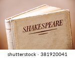 Small photo of An old book by Shakespeare