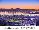 San Diego  California  Usa Daw...