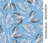 flower pattern | Shutterstock .eps vector #381934039