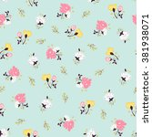 abstract seamless pattern with... | Shutterstock .eps vector #381938071