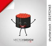character food design  | Shutterstock .eps vector #381952465