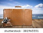 traveling. | Shutterstock . vector #381965551
