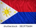 Philippines Flag Pattern On The ...
