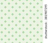 seamless st. patricks day... | Shutterstock .eps vector #381987295