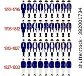 insignia sailors and officers... | Shutterstock . vector #382001734