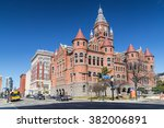 old red museum  formerly dallas ... | Shutterstock . vector #382006891