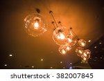 luxury light lamps | Shutterstock . vector #382007845