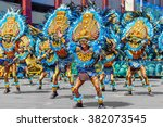 january 24th 2016. iloilo ... | Shutterstock . vector #382073545