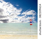 thailand beach  sea sand sky ...   Shutterstock . vector #382109614