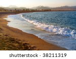 red sea.  nabq bay | Shutterstock . vector #38211319