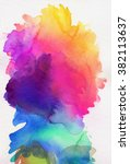 Bright Rainbow Colored...
