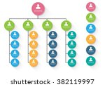colorful circle organization...   Shutterstock .eps vector #382119997