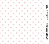 tile vector pattern with pink... | Shutterstock .eps vector #382136785