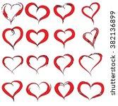 vector concept conceptual... | Shutterstock .eps vector #382136899