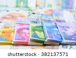 colorful background with swiss... | Shutterstock . vector #382137571