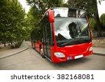 new modern city bus | Shutterstock . vector #382168081