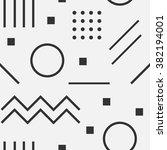 vector texture of geometric... | Shutterstock .eps vector #382194001