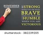 inspirational  message to... | Shutterstock . vector #382239205