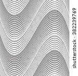 optical art background wave...   Shutterstock .eps vector #382239769
