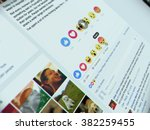 bangkok  thailand   february 26 ... | Shutterstock . vector #382259455