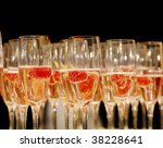 Rows Of Champagne With...