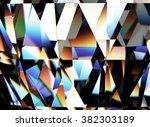 diamond. sign of love. fashion... | Shutterstock . vector #382303189