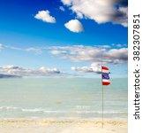 thailand beach  sea sand sky ...   Shutterstock . vector #382307851