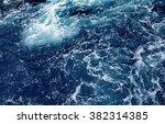 splashing waves ocean wave high ... | Shutterstock . vector #382314385