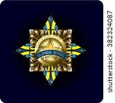 metal gold order vector | Shutterstock .eps vector #382324087