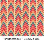 modern geometric pattern.... | Shutterstock .eps vector #382325101
