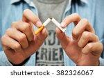 stop smoking | Shutterstock . vector #382326067