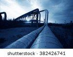 oil pipeline  the oil industry... | Shutterstock . vector #382426741