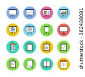 multimedia icons | Shutterstock .eps vector #382438081