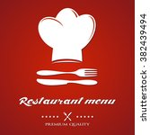 design for a restaurant menu ...   Shutterstock .eps vector #382439494