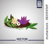 spa center design  | Shutterstock .eps vector #382454569