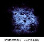 blue abstract grunge wall... | Shutterstock . vector #382461301