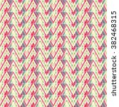 modern geometric pattern.... | Shutterstock .eps vector #382468315