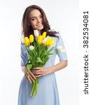 Beautiful Girl In The Blue...