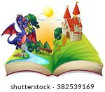 Book Of Fairytales With Knight...