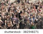group of people   defocused... | Shutterstock . vector #382548271